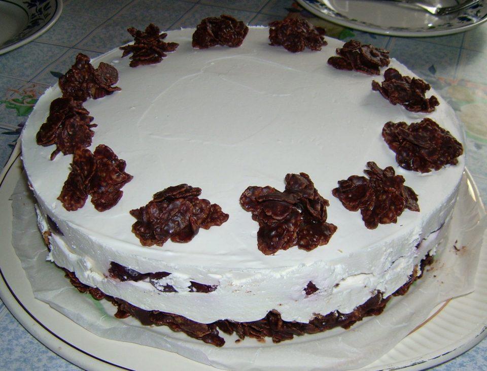 Kirsch-Knusper-Torte