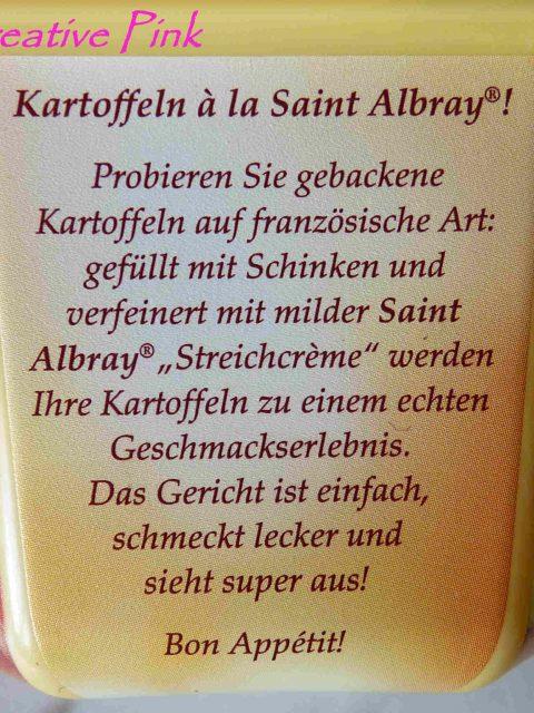 Saint Albray Streichcrème