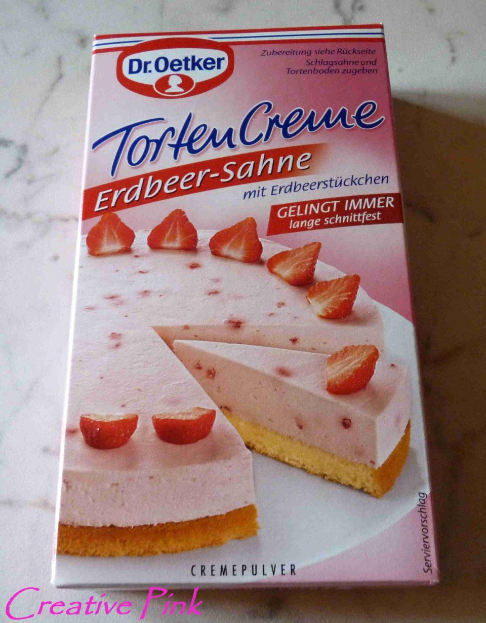 Torten Creme Erdbeer-Sahne Torte