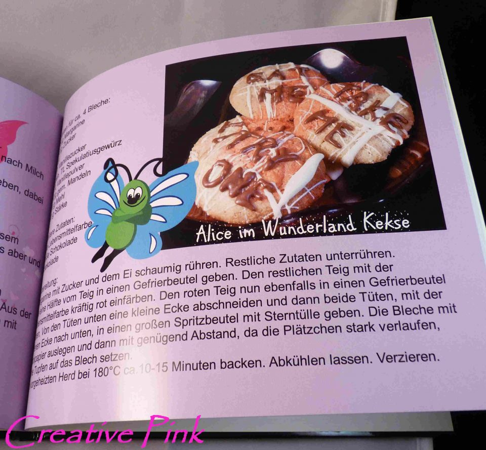 Creative-Pink Das Kochbuch - Rezept 3
