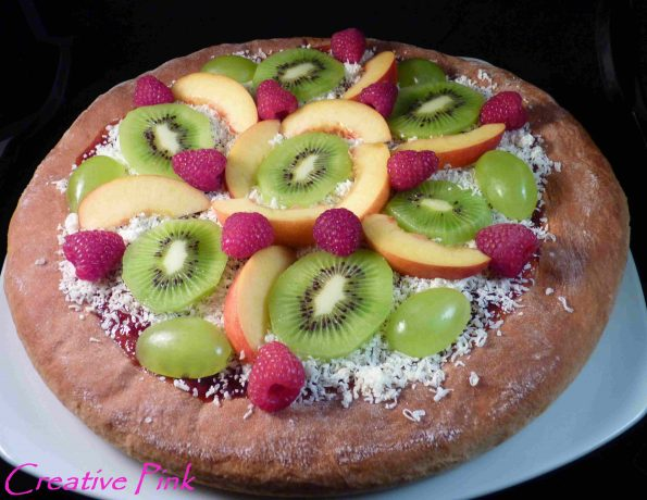 Früchte Pizza/Süße Pizza