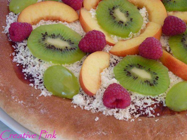 Früchte Pizza - Süße Pizza Details