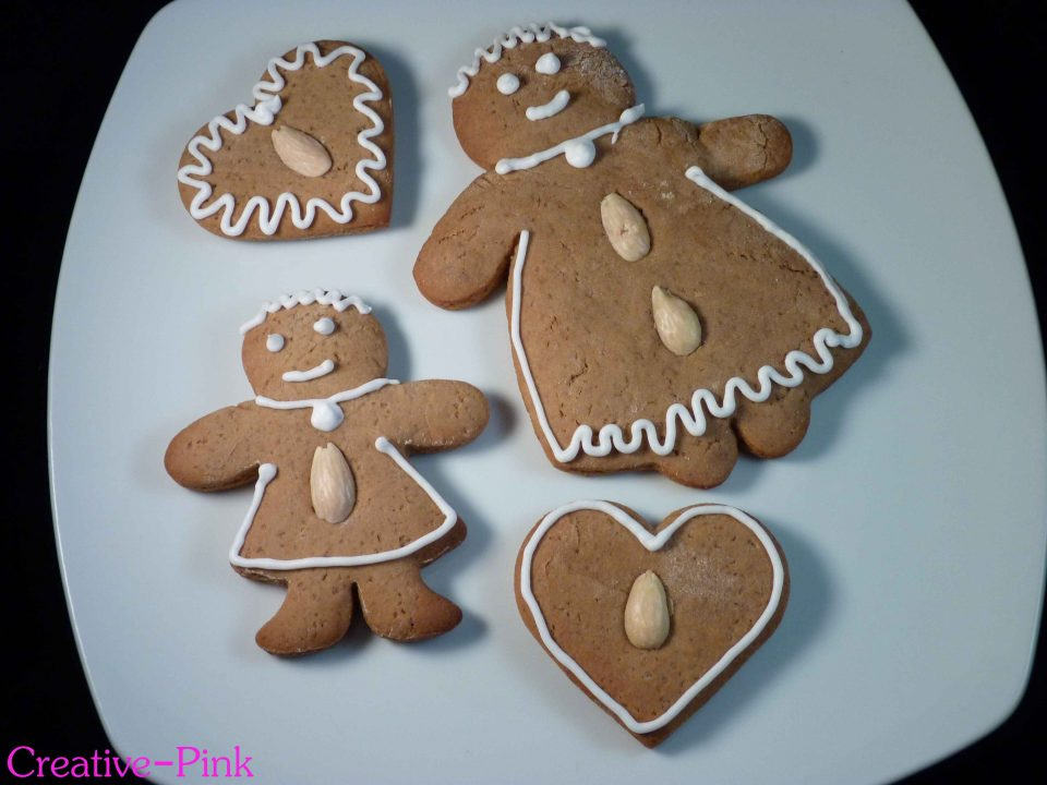 Lebkuchenmänner, Lebkuchenfrauen, Lebkuchenherz, Lebkuchenfiguren