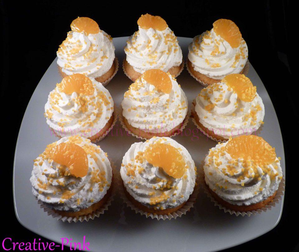 Cupcakes Mandarine