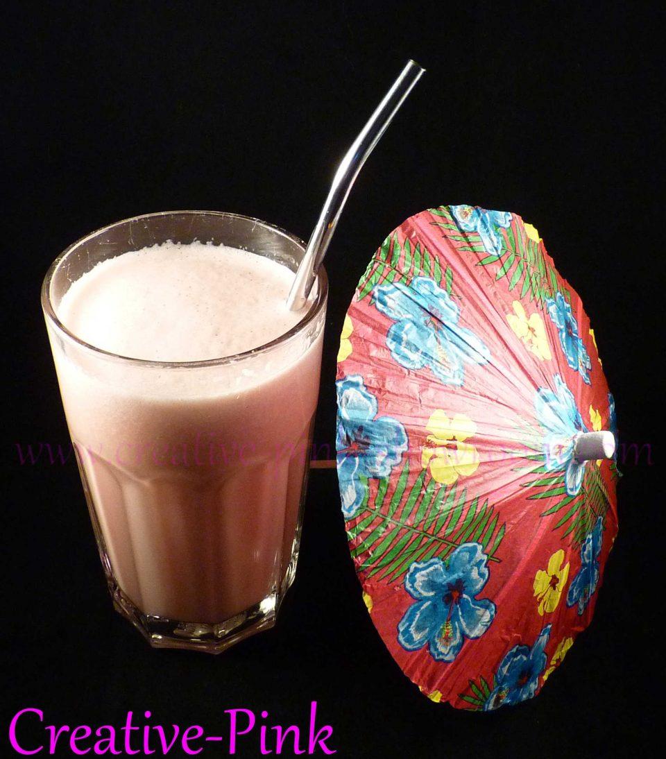 Veganer Wassermelonen Milchshake, Milkshake