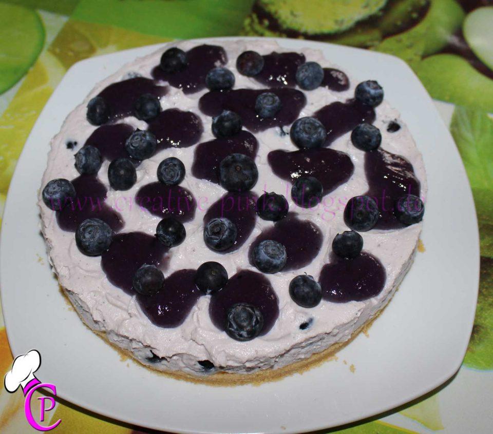 Mini Blaubeer Torte